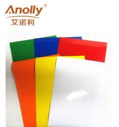 De plástico de PVC Tamanho personalizado de cor em vinil de Corte