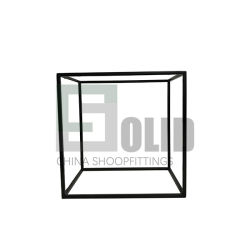 Extra grote roestvrijstalen Frame Store Front voor schoen/Cubert Style Shoe Display Bag Holder Idea/Clothing Store Cashmere Scarf Display Metal Shoes Frame-pallet
