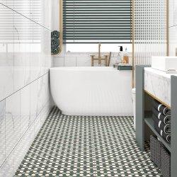 600X600 антикварных картин зеленый цвет декоративного обрамления стеклянной внутренней конструкции для установки внутри помещений покраска отеля ванная комната кухня керамический пол фарфоровые стены керамическая плитка