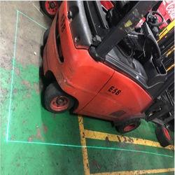 Empilhador eléctrico linha Laser luz Laser Empilhadeira IP67 Luz de Aviso para coroar a Toyota