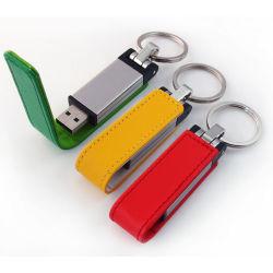 Кожаный Micro-USB 3.0 Flash памяти Memory Stick™ 16 ГБ для деловых подарков