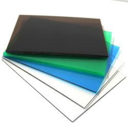 Cheap toit transparent en polycarbonate feuille solide pare-soleil pour l'immeuble de bureaux