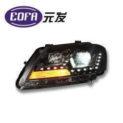 Coche de doble lente de la luz de faro de xenón HID de la lámpara UV para Lavida cabeza