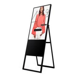49 inch LCD-poster met gekantelde draagbare digitale bewegwijzering voor binnen Apotheek