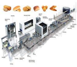 전자동 산업 베이커리 브레드 머신 식품 가공 장비 빵 굽는 루스크 빵
