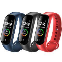 Banda bracelete Fitpro M4 Assista à prova de rastreamento da freqüência cardíaca