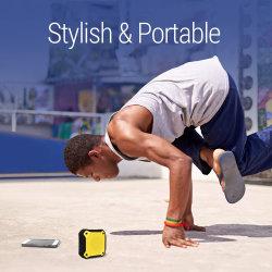 Mini radio FM F3u étanche 5.0 Bluetooth Audio Haut-parleur support TF carte, Flash Driver, USB Disk et aux pour ordinateur ou téléphone mobile