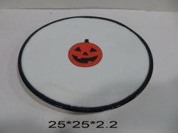 Keramischer Halloween-Süßigkeit-Platten-Teller