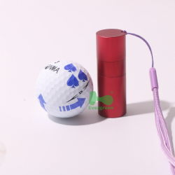 Accesorio de metal Marcador de bola Bola de Golf personalizadas tees de Golf de aluminio