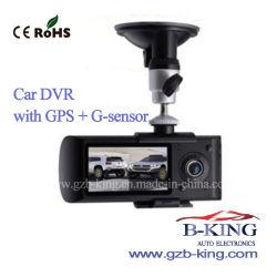Горячий мини-Portable с двумя объективами Car камера DVR регистратор
