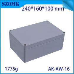 Boîtier en aluminium étanche extérieur électrique pour l'électronique