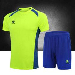 OEM past de Slanke Geschiktheid Jersey van de Fabrikant Polyester van de T-shirt van de Broeken van de Borrels van de Voetbal van de Fabriek van de Training van de Sportkleding van het Embleem Hotsale de Aanstotende Lopende Sneldrogende aan