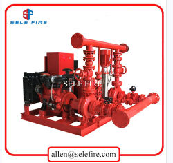 UL/FM Listed 500gpm Diesel Engine - 몬 End Suction Fire Pump Package