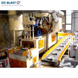 Material de construcción de la industria automotriz de malla de alambre de limpieza de superficies Granallado máquina