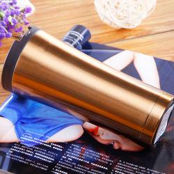 Tazza promozionale della tazza del Thermos della tazza dell'acqua di sport della chiavetta del caffè di Inox isolata tazza del regalo della tazza dell'acqua del metallo della tazza di corsa dell'acciaio inossidabile delle pareti del gemello