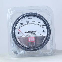 مقياس الضغط التفاضلي FNPT 1/8 بوصة مع قرص بطول 3 1/2 بوصة، من 0 إلى 30 رطلاً لكل بوصة مربعة، من الألومنيوم المصبوب Die Cast