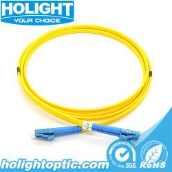 LC LC-zum Singlemode Faser-Optikduplexkabel