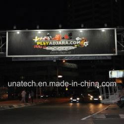 La publicité prisme SOLIDE ALU. Châssis en PVC Vinyl pont extérieur renouvelable Trivision Billboard Media Boîte à lumière