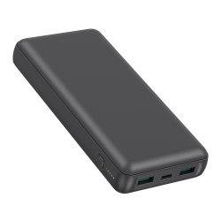 Haute capacité Chargeur de téléphone mobile portable 20000mAh Pd 3.0 20W et QC 3.0 20W double USB de charge rapide de la Banque d'alimentation