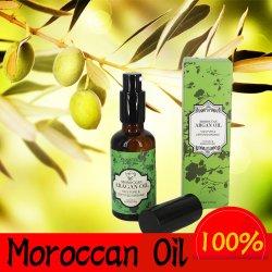 Private Label 100 % Pure Organic sèche Repairt essentiel Huile d'argan au Maroc pour les produits laitiers Soins des cheveux