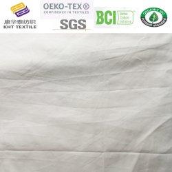 의복 직물 t-셔츠를 위한 Tc 회색 Polyeater 면에 의하여 길쌈되는 직물
