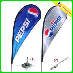 Открытый печатной рекламы виниловых флаги для рекламы