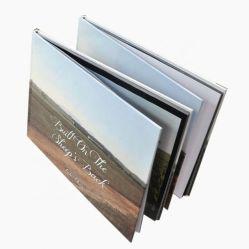 Documento di pubblicazione di viaggio su ordinazione poco costoso di sublimazione del libro di stampa del libro
