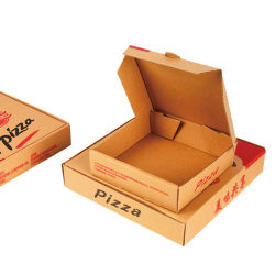 Groothandel Custom Print Paper Cardboard Box voor Pizza Package