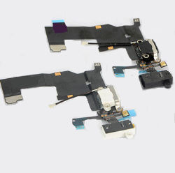 Kopfhörer-Audiodock-Verbinder, der USB-Kanal-Flexkabel für iPhone 5 auflädt