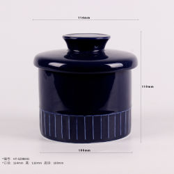 خزفيّة جديدة [بون شنا] لون تزجيج إستعمال يوميّة يزيّن زبدة [كرك]