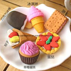승진 3D 케이크 지우개 음식 모양 지우개