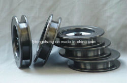 ASTM B387 Черный провод молибдена с обмоткой0.25Dia мм для нагревательного элемента