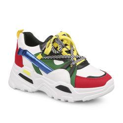 Nouvelle conception de chaussures de sport Athletic Fashion femmes Sneakers Mesdames chaussures