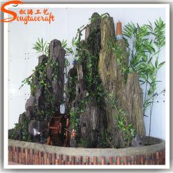 2015個の新しいデザイン装飾的な屋内人工的な滝の石