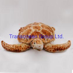 Het leuke Hoofdkussen van de Schildpad van de Pluche van de Baby van de Schildpad van de Pluche Zachte Grote Stuk speelgoed Gevulde