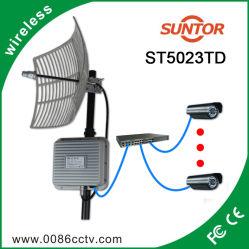 50km 5.8GHz Dispositivo Extensor de vídeo sem fio externa