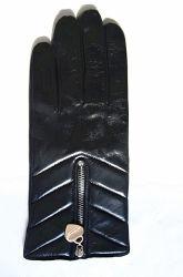 Леди мода кожаные перчатки (JYG-23005)