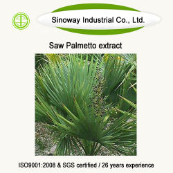 総脂肪酸 25% 、 GC SAW Palmetto Extract の 45%