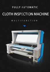Caixa de couro artificial com tecido de malha pano comercial de PP película PE Edge-Align contando a máquina com luz LED de material têxtil tecido máquina de Inspeção