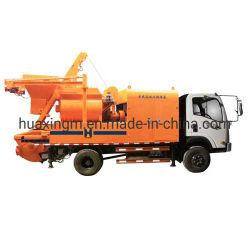 Pompa diesel della betoniera della macchina 40 concreti
