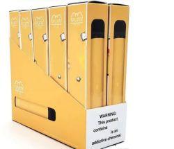 Longue durée Vape stylo jetable 800 bouffées bouffée plus le commerce de gros