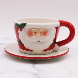 Хорошее качество керамики кружка Рождество живопись, кружки для настройки