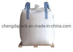 1000kg 스톤 비투멘 크로스 코너 재사용 가능 맞춤형 벌크 점보 PP 우븐 톤 FIBC 컨테이너 빅백