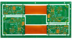 Ксп Rigid-Flex платы питания печатной платы для освещения и солнечных/безопасности/EMS