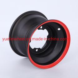 YueFei Felge Stahlrad ATV-Rad 6.00X10 4-100 für ATV/UTV Carts / Go Carts Nutzung