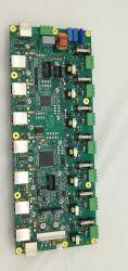 مجموعة لوحة PCB متعددة الطبقات مع طلاء ذهبي ولوحة PCBA ذات القناع الملحوي الأزرق