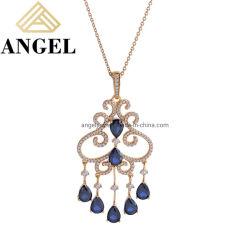 Роскошный 925 серебристые украшения моды модный элегантный цепочка для свадьбы