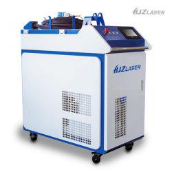 月間販売台数 1,000 W CNC レーザー溶接装置 1500 W 2000W はんだ付け機ハンドヘルド・ウブルヘッドレーザー溶接機 自動ワイヤフィーダシステム