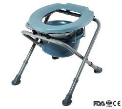 Cómoda silla económica Silla de wc/acero/acero wc cómoda silla