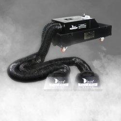 Chef de l'eau DMX de mariage double stade de brouillard de basse altitude de la machine de l'équipement d'effet de la glace sèche 3000W